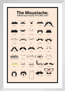 The Moustache by Anonymous