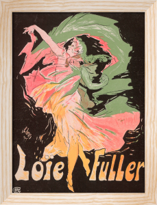 Loie Fuller, 1890 by Jules Cheret