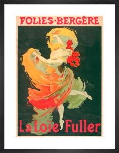 Loie Fuller - Folies Bergeres, 1895 by Jules Cheret