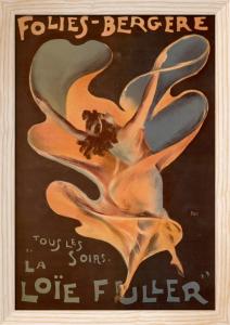 Loie Fuller - Folies Bergeres, 1897 by Otto Gussmann