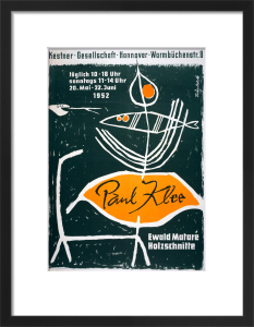 Paul Klee Exhibition, Hanover 1952 by Paul Klee