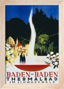 Baden-Baden Thermal Springs, 1937 by Anonymous