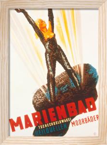 Marienbad Mudbaths, 1937 by Werner Weiskonig
