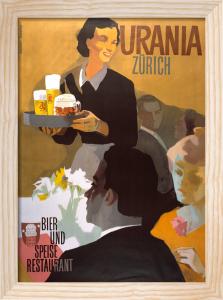 Urania Bar, Zurich 1950 by Atelier Koella