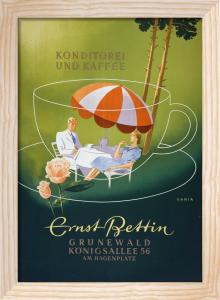 Ernst Bettin Coffeehouse, 1950 by Kania