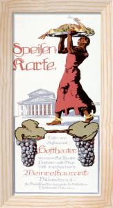 Hoftheater Restaurant, Munich 1912 by Otto Ludwig Naegele