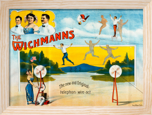 Wichmann Bros - High Wire Acrobats, 1905 by Anonymous