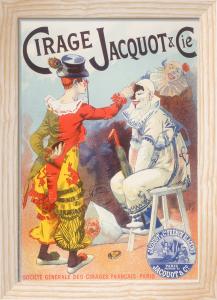 Jacquot Shoe Polish, 1894 by Lucien Lefevre