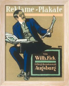 Fiek Printers, Augsburg 1912 by Anonymous
