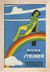 RUKA Advertising Studio, Berlin 1919 by Anonymous