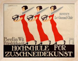 College for Tailors, Berlin 1911 by Ernst Deutsch