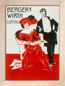 Berger & Wirth Paints, Leipzig 1909 by Anonymous
