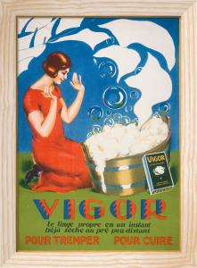 Vigor Washing Powder, 1915 by Anonymous
