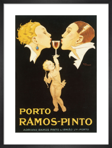 Ramos-Pinto Port, 1925 by Rene Vincent