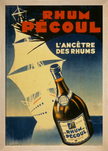 Rhum Pecoul - Martinique, 1930 by J Bisson