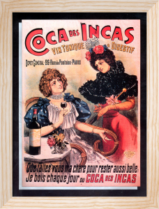 Coca des Incas Tonic Wine, 1890 by Anonymous
