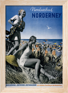 Nordseebad Nordeney, 1935 by Wolff Breidenstein