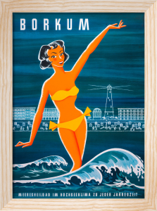 Borkum Resort, 1955 by Anonymous