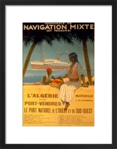 Algeria via Port-Vendres, 1920 by Sandy Hook