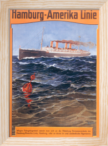 HAPAG - Steamer Deutschland, 1905 by Anonymous