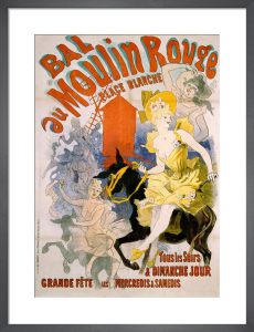 Bal au Moulin Rouge, 1892 by Jules Cheret