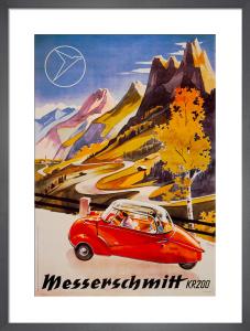 Messerschmitt Bubble-Car, 1955 by Anonymous