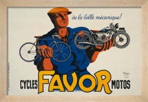 Favor Cycles and Motorcycles, 1937 by P J Bellenger