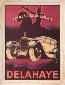 De Lattaye, 1925 by Fell