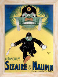 Sizaire & Naudin Automobiles, 1906 by Michel Liebeaux