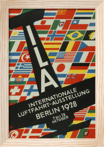 Berlin Aviation Exhibition, 1928 by Hans Ibe