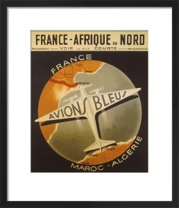 Avions Bleus, 1938 by Anonymous
