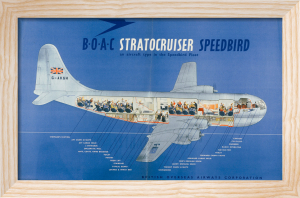 BOAC Stratocruiser, 1950 by Anonymous