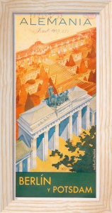 Brandenburg Gate,1937 by Axster Heutlass
