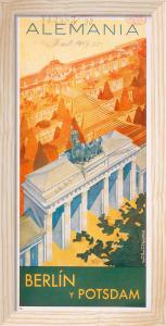 Brandenburg Gate,1937 by Axster Heutlass