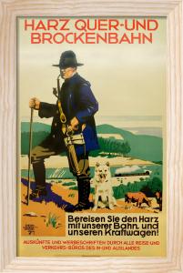 Harz Quer-und Brockenbahn, 1930 by Siegmund von Suchodolski