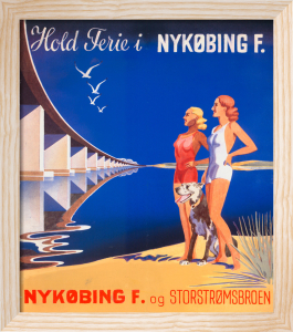 Storstromsbroen Bridges, 1940 by Anonymous