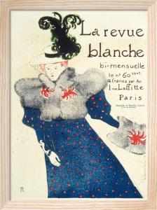 La Revue Blanche, 1895 by Henri de Toulouse-Lautrec