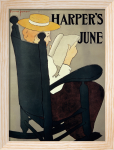 Harper's, June 1896 by Edward Penfield