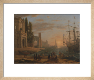 A Seaport by Claude