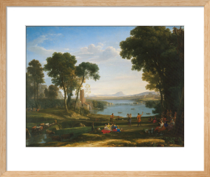 Landscape with the Marriage of Isaac and Rebecca by Claude