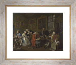 Marriage A-la-Mode: 1, The Marriage Settlement by William Hogarth