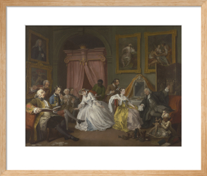 Marriage A-la-Mode: 4, The Toilette by William Hogarth