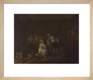 Marriage A-la-Mode: 5, The Bagnio by William Hogarth