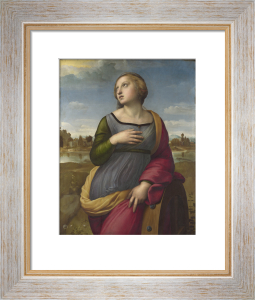Saint Catherine of Alexandria by Raphael