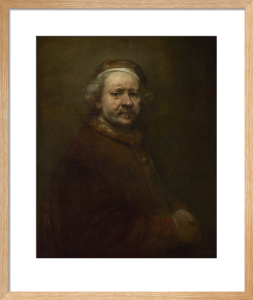 Self Portrait at the Age of 63 by Rembrandt van Rijn