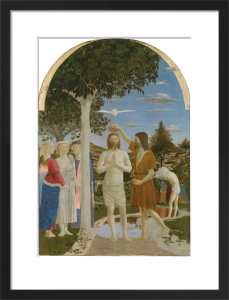 The Baptism of Christ by Piero Della Francesca