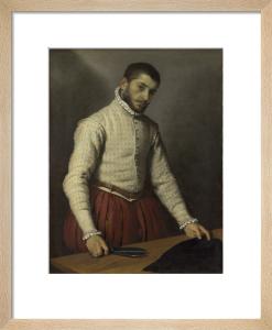 The Tailor ('Il Tagliapanni') by Giovanni Battista Moroni