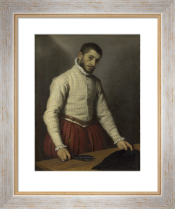 The Tailor ('Il Tagliapanni') by Giovanni Battista Moroni