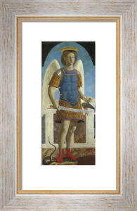 Saint Michael by Piero Della Francesca