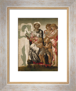 The Virgin and Child with Saint John and Angels ('The Manchester Madonna') by Michelangelo